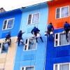 Чим якісно пофарбувати фасад оштукатуреного будинку?