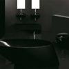 Чорна ванна кімната: важливі моменти оформлення темного інтер'єру