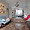 Сучасний інтер'єр двох'ярусної квартири в лондоні
