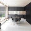 Заміський будинок в швеции - контрастний дизайн