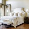 Дизайн штор в спальній кімнаті