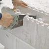 Будинок своїми руками з піноблоків в заміському будівництві