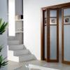 Двері-гармошка в інтер'єрі: простота, лаконічність і зручність