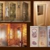 Двері в лазню - скляні і дерев'яні двері для парилки