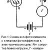 Фотоелектричні датчики