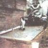 Гараж на бетонних плитах