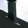 Ізоляція пічної труби на даху