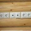 Електропроводка в дерев'яному будинку - як провести самостійно?