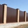 Як швидко і якісно побудувати паркан з цегляними стовпами?