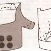 Як з колод зробити садові меблі