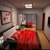 Як оформити спальню в східному стилі