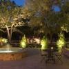 Як організувати освітлення для саду: види підсвічування доріжок, водойм і рослин