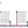 Як підключити алюмінієвий радіатор