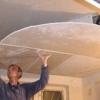 Як підшити стелю гіпсокартоном самому