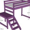 Як побудувати ліжко горище своїми руками?