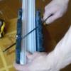 Як різати стельовий плінтус?