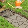 Як самому зробити форму для тротуарної плитки