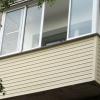 Як самостійно обшити балкон зовні