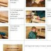 Як зробити меблі для лазні своїми руками: схеми, креслення