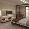 Як створити гарний дизайн спальні в приватному будинку?