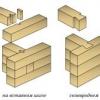 Як будуються дачні будинки економ класу з профільованого бруса?