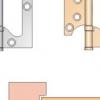 Як врізати правильно петлі в міжкімнатні двері?