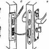 Як врізати замок в міжкімнатні двері?