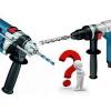 Як вибрати інструмент: чим дриль відрізняється від перфоратора