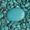 Камінь пресована бірюза і її відмінні властивості