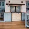 Кераміка для кухні: плитка з імітацією дерева, каменю і цегли