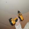 Кріплення гіпсокартону безпосередньо до стелі