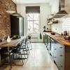 Кухня в стилі лофт - бюджетний варіант для творчих особистостей