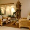 Меблі з бамбука - природа в будинку