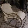 Металеве крісло-качалка