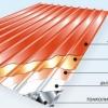 Металопрофіль. Монтаж покрівлі та утеплення даху