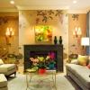 Модні шпалери для інтер'єру сучасної вітальні
