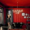 Модні тенденції в ванній кімнаті - чорні, скляні і дерев'яні ванни