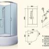 Монтаж заводських душових кабін