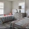 Незвичайне напрямок дизайну - дитяча кімната в сірому кольорі