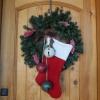Новий рік на порозі: прикрашаємо вхідні двері