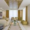 Шпалери в інтер'єрі вітальні: правила вибору і вдалі комбінації