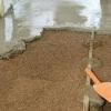 Звичайна і така потрібна заливка підлоги керамзитом