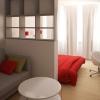 Оформлення спальні вітальні: два в одному
