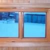 Вікна в баню: матеріали, конструкція і особливості монтажу
