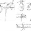 Основні матеріали для мотузкових сходів