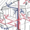 Особливості та монтаж відкритої опалювальної системи