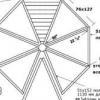 Особливості створення креслення восьми- і шестикутних альтанок