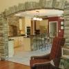 Оздоблення арки декоративним каменем: універсальне рішення для міжкімнатних отворів