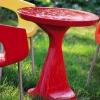 Пластикові меблі для дачі - найкращий варіант для літа