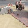 Підготовка підстави для тротуарного покриття